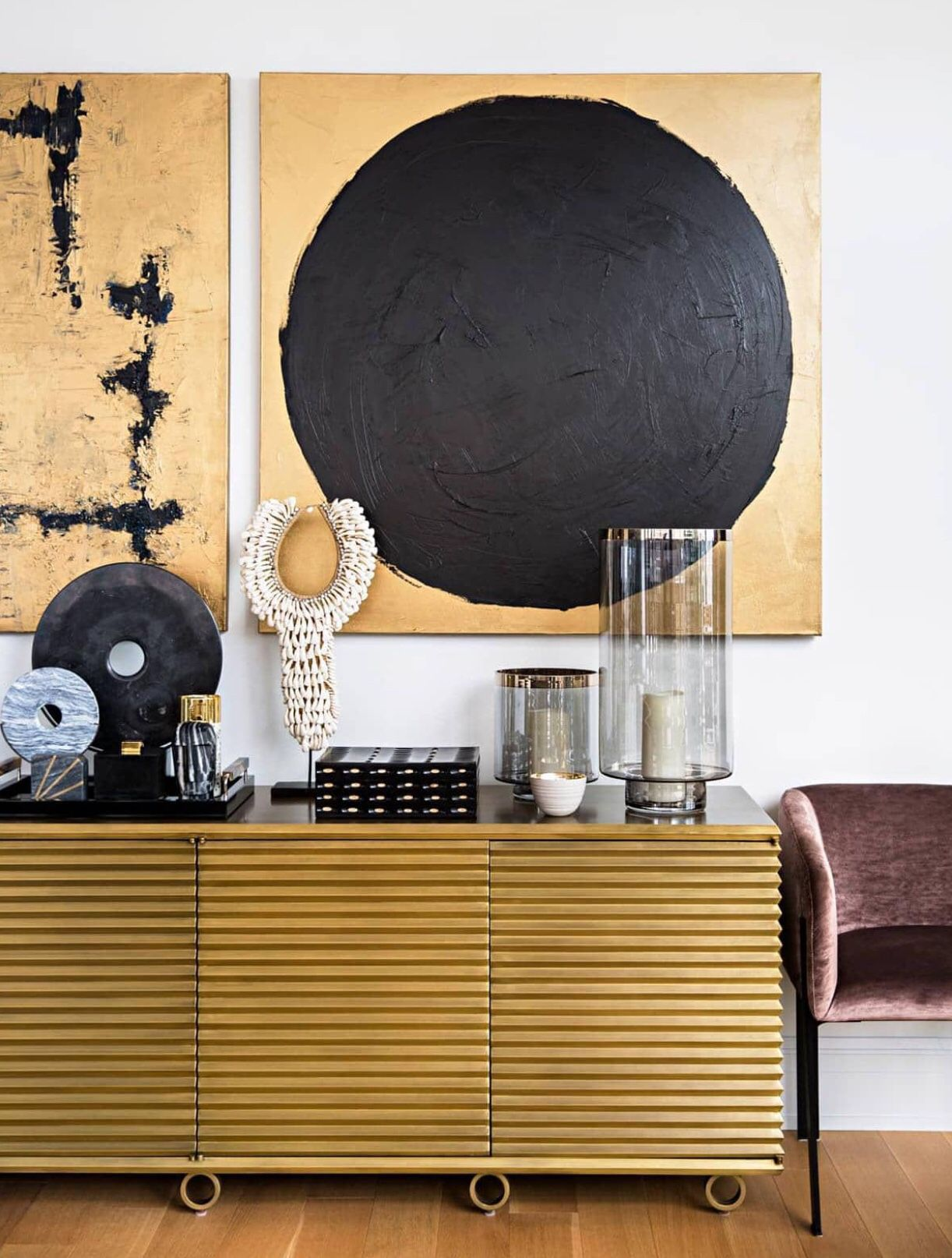 The Art Of Display On Display Housewhole Gold Staging