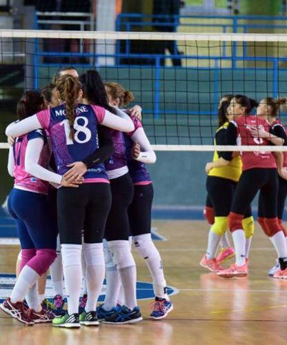 Volley femminile Europea 92 IserniaDemocos Cutrofiano 3-0