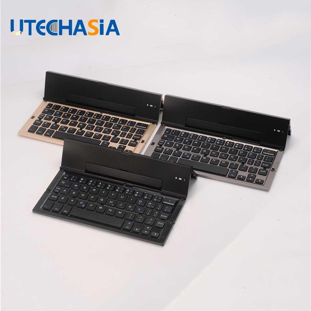 31 20 Buy Here Qwerty Mini Keyboard 3 0 Folding Foldable Bluetooth Keyboards For Apple Iphone Ipad Pro Macbook I Mini Keyboard Bluetooth Keyboard Keyboards