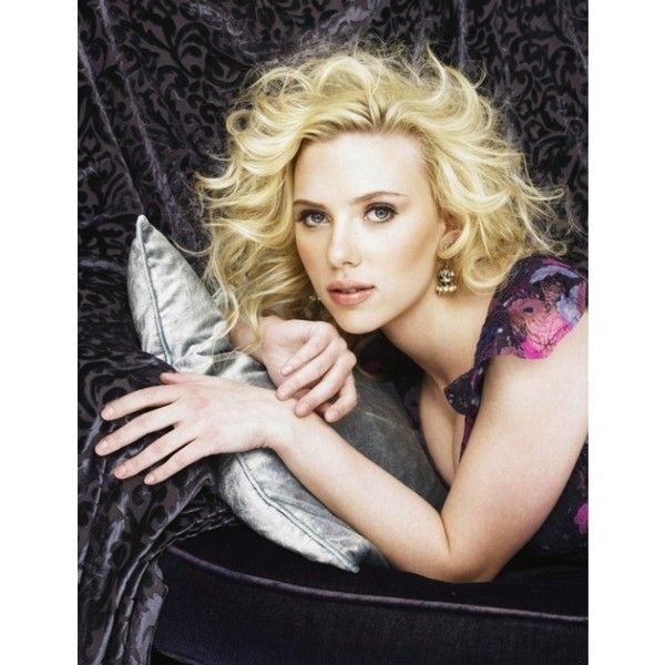 Scarlett Johansson Gallery at Scarlett-Photos.com: Click image to... ❤ liked on Polyvore