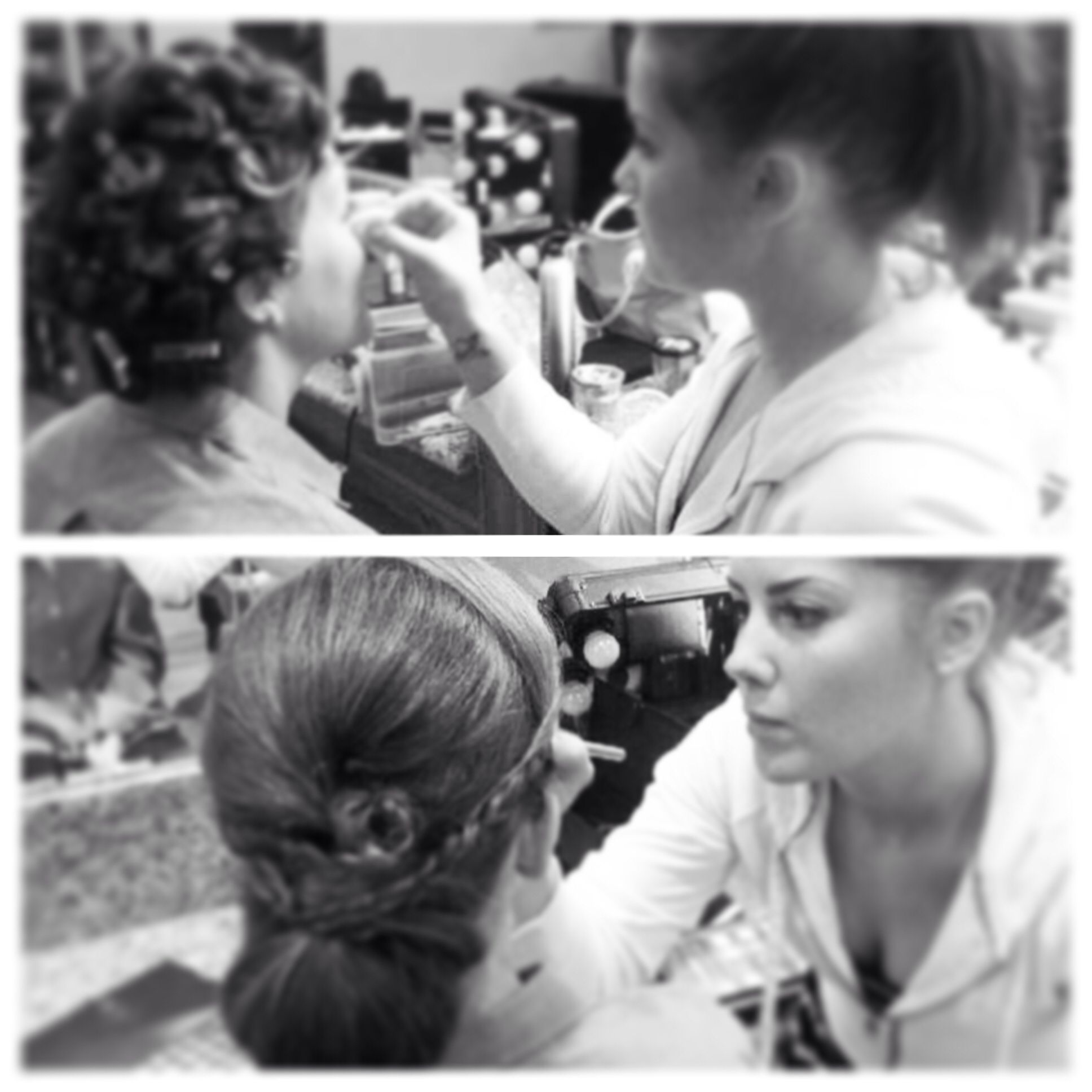 march 28th wedding hair and makeup by: ashley rhodes of