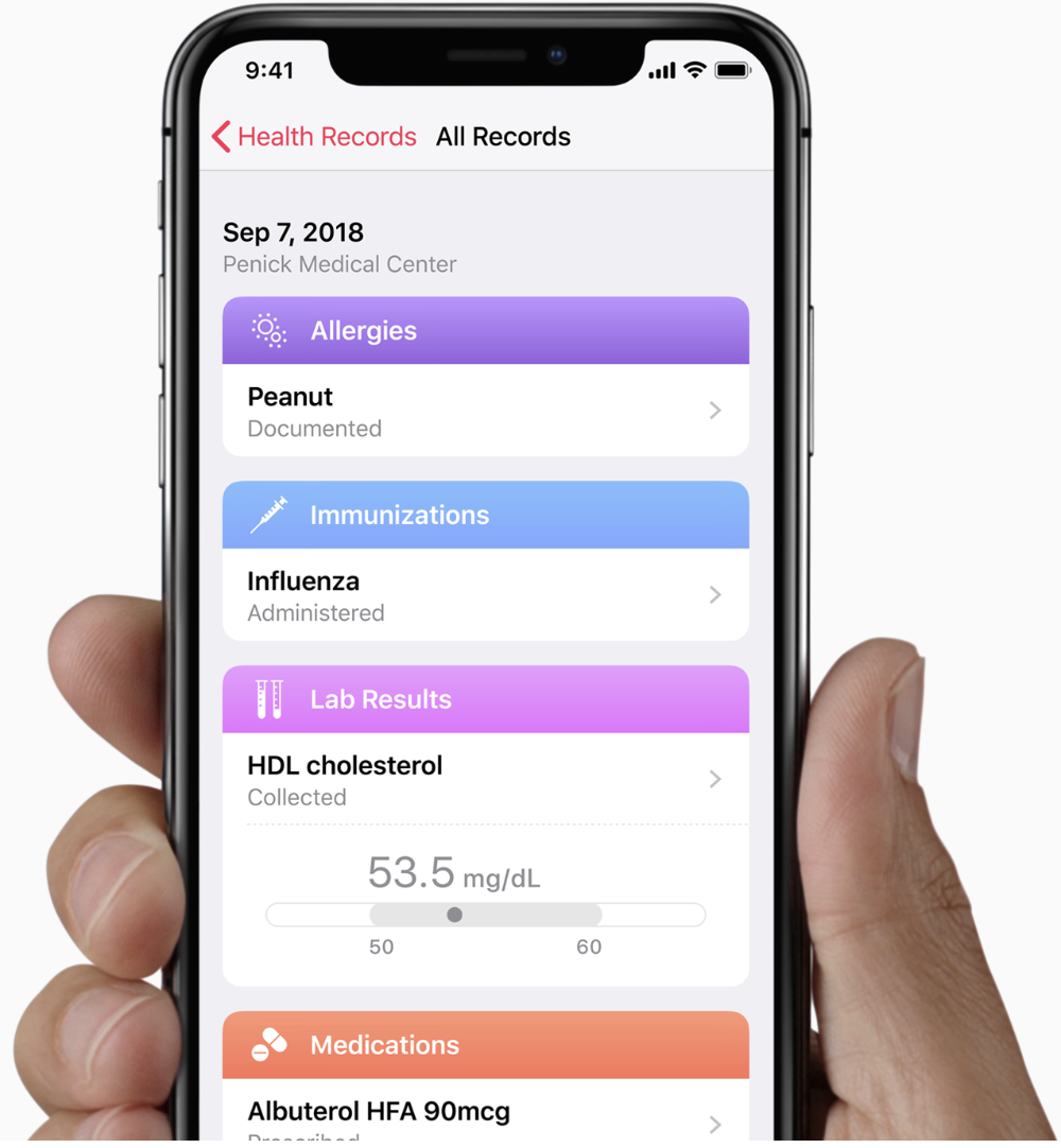 Health Records on iPhone are available to those enrolled