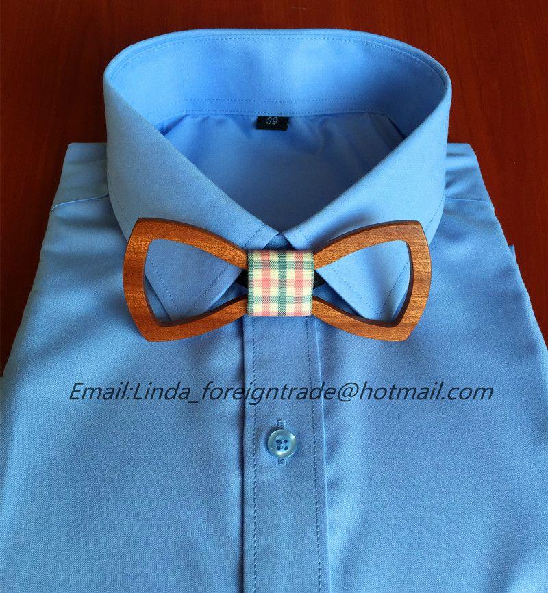 New wood bow tie Europe wedding new customized Personality ...