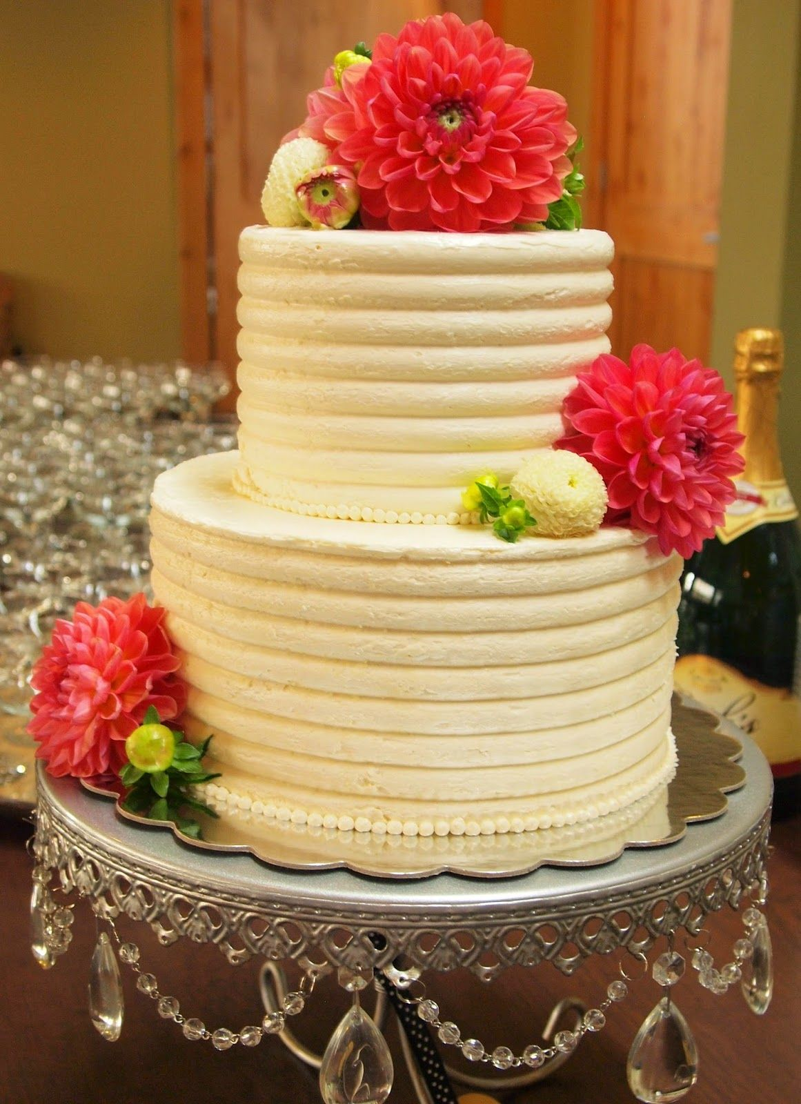 Lovely Flours Bake Shop: Dahlia Wedding Cake | Cake Love | Pinterest ...