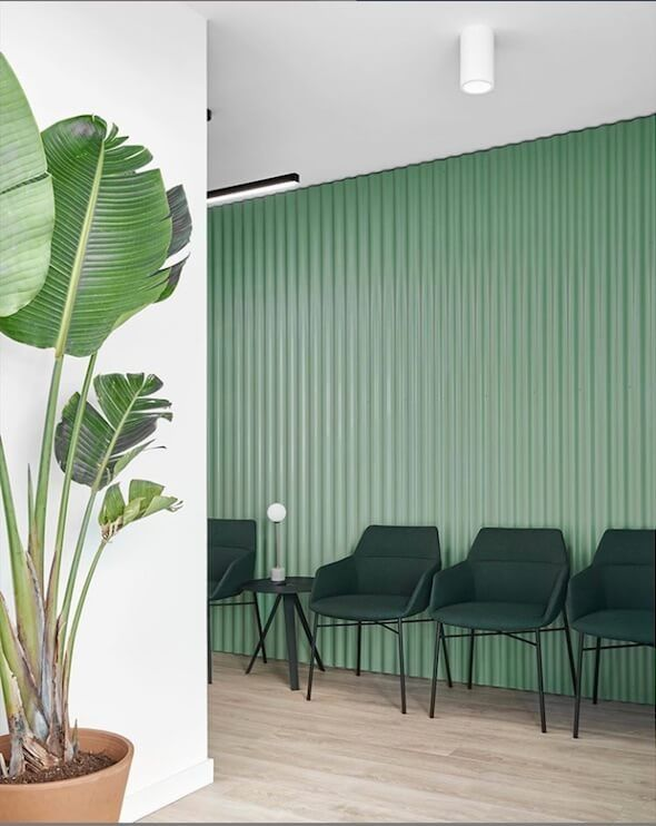 COLOR TREND 2020 Neo mint in interiors and design Green