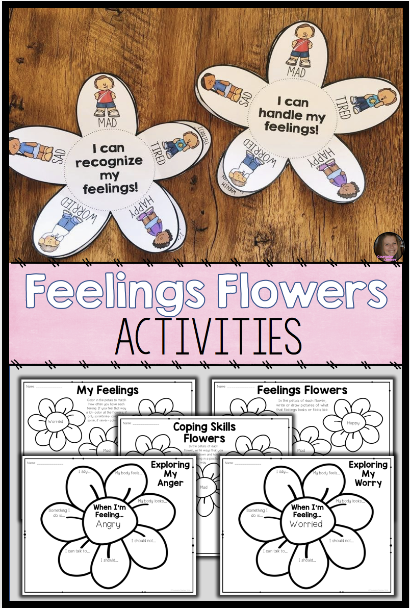 These Feelings And Emotions Activities And Worksheets For Kids Will Help Your Elementary St Coping Skills Activities Emotions Activities Teaching Social Skills [ 1192 x 804 Pixel ]
