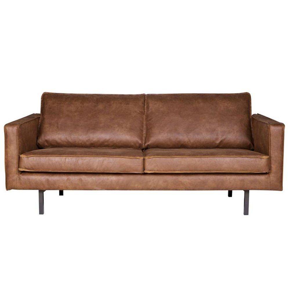 2 5 Sitzer Sofa Rodeo Echtleder Leder Lounge Couch Garnitur Cognac Amazon De Kuche Haushalt Interiores Sala Gris Rodeo