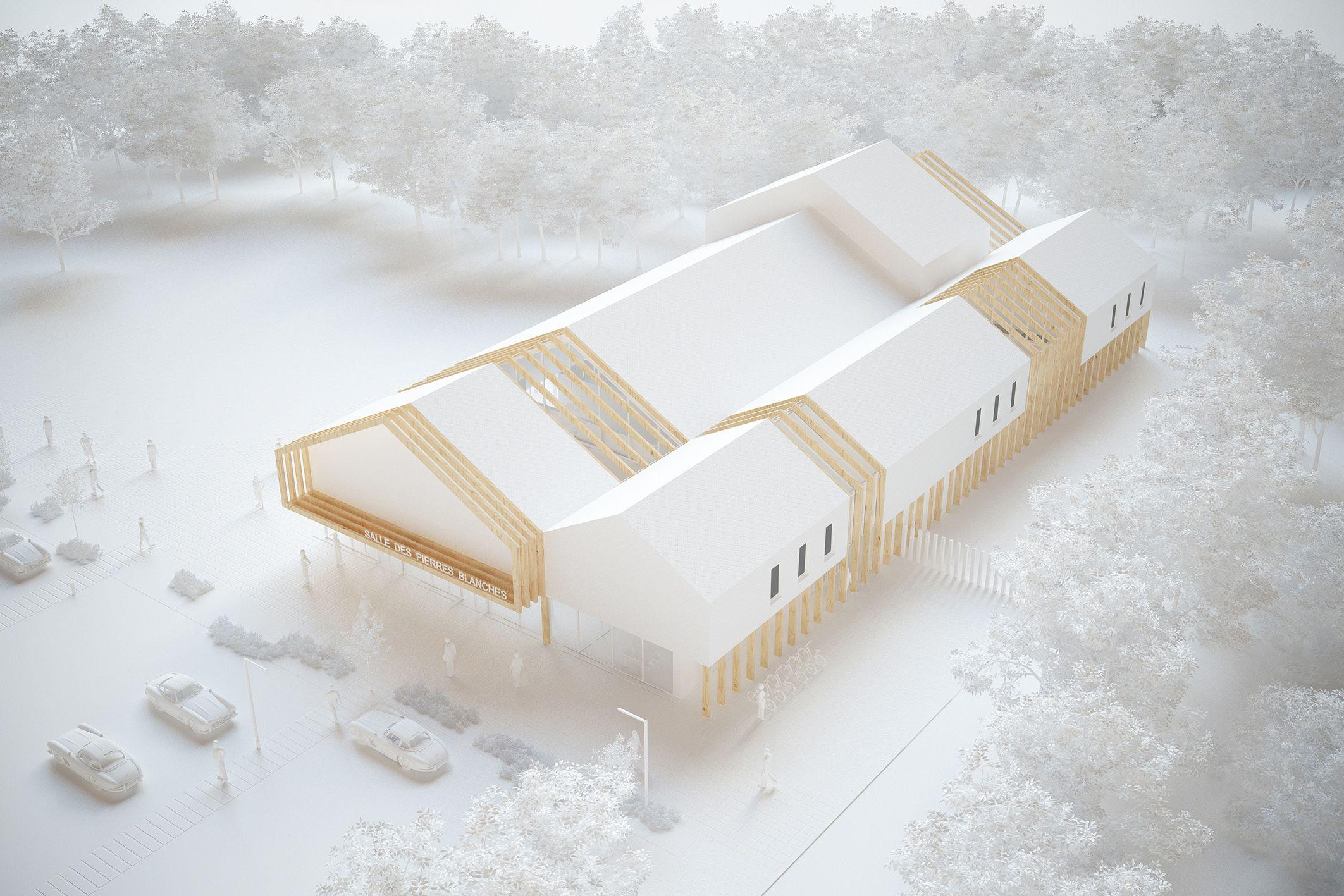 Boi Tracks Architectescom Architecture Present Maquette
