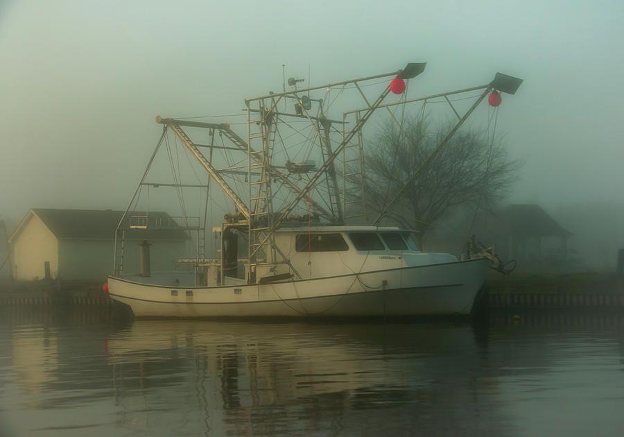Shrimp Boat At Dawn Photograph by Edie Ann Mendenhall