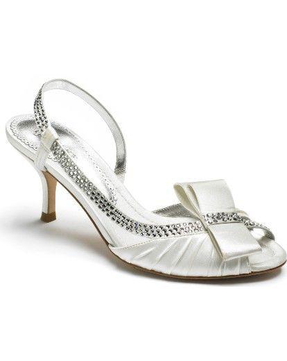Low Heel Bridal Shoes  7659c09ab