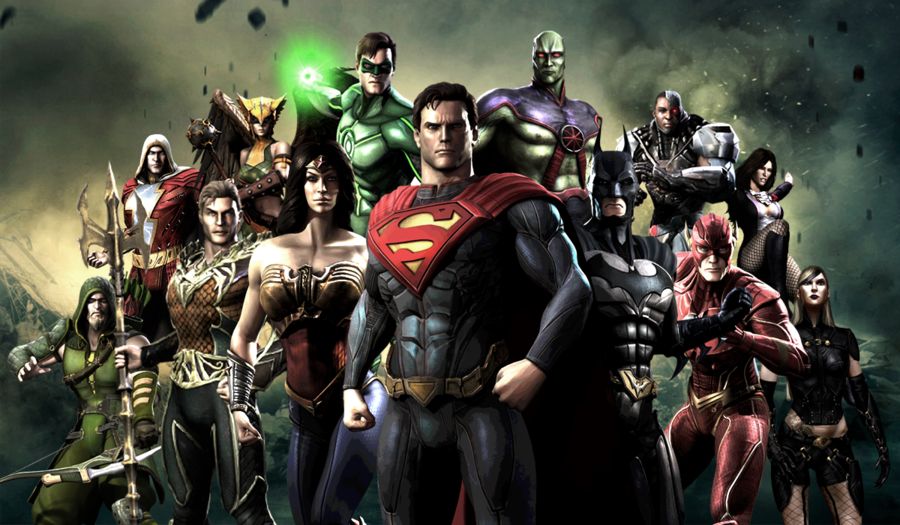 Injustice Gods Among Us Wallpaper Dc Comics Superheroes Comic Book Heroes Injustice