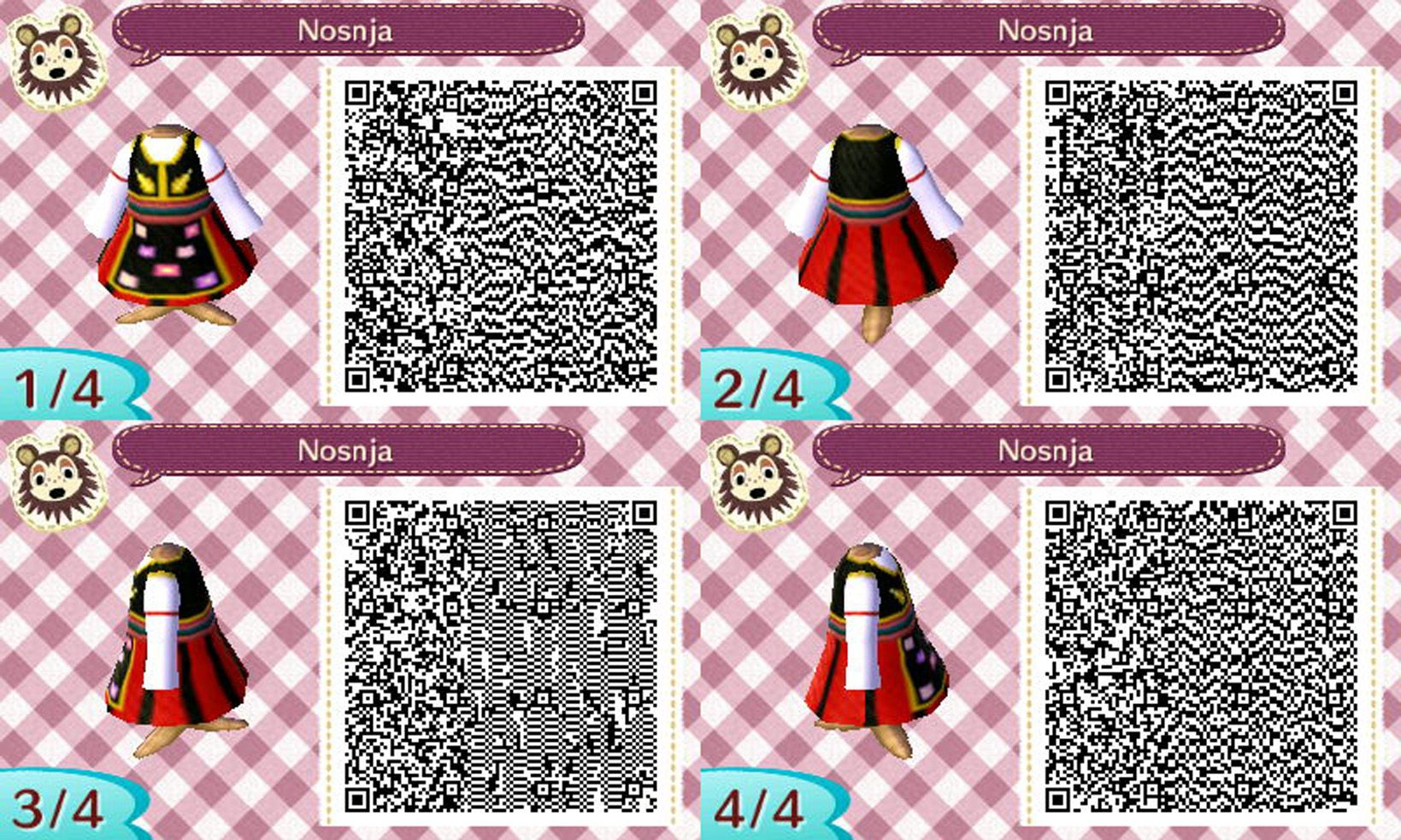A Traditional Serbian Costume For Acnl Qr Codes Animal