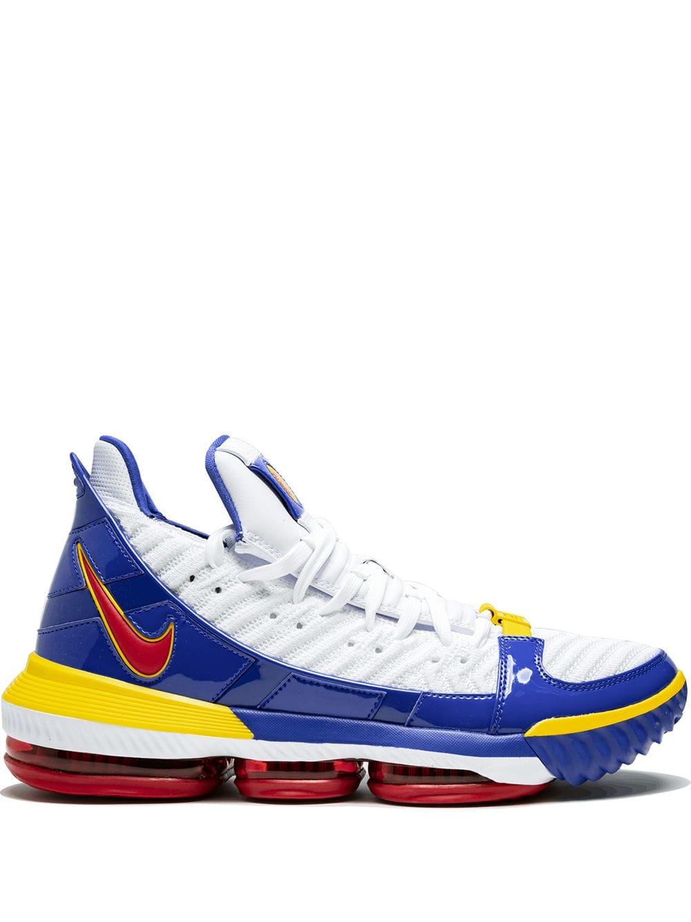 "Nike LeBron 15 ""Waffle Trainer"" Blue Yellow For Sale, Precio"
