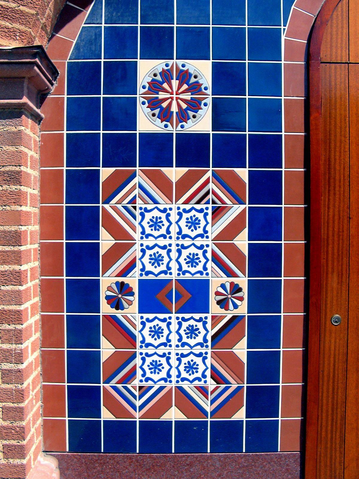 tile art painting ceramic tiles