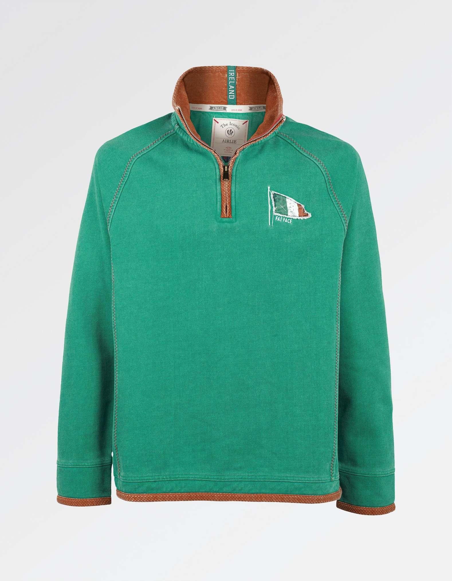 Buy Irish T-Shirt With Ireland Shamrock Design Leather