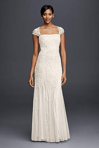 Davids Bridal Offers A Unique Selection Of Vintage Wedding Dresses Including Lace Styles