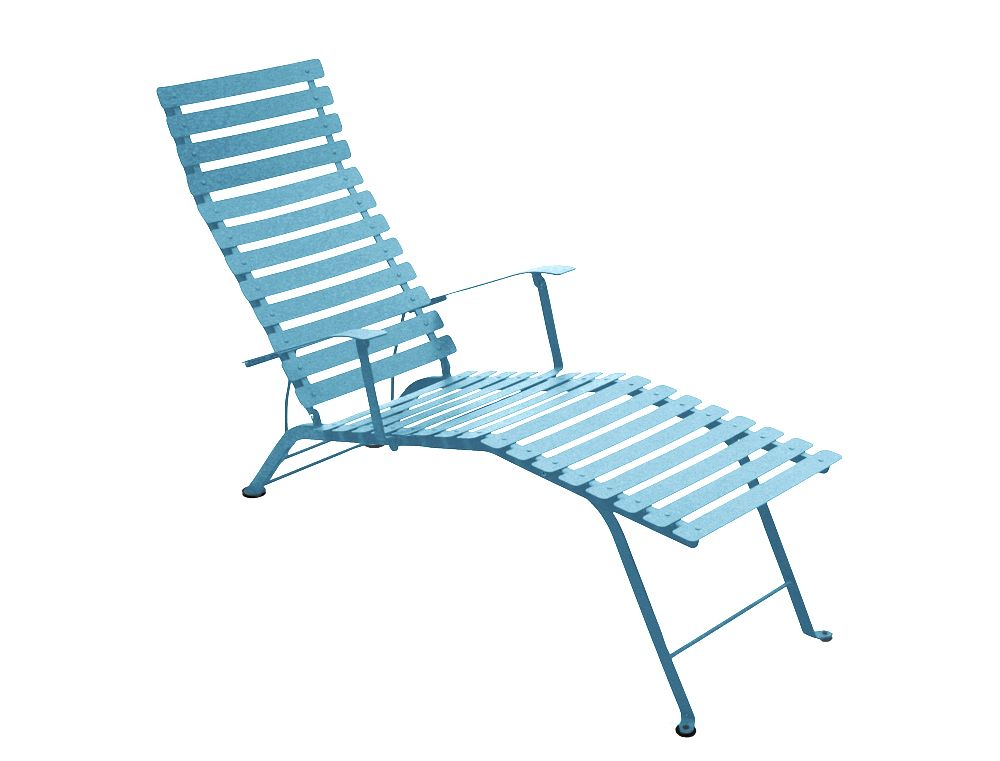 Chaise Longue Bistro Chaise Longue De Jardin 09 Aqua Turkis
