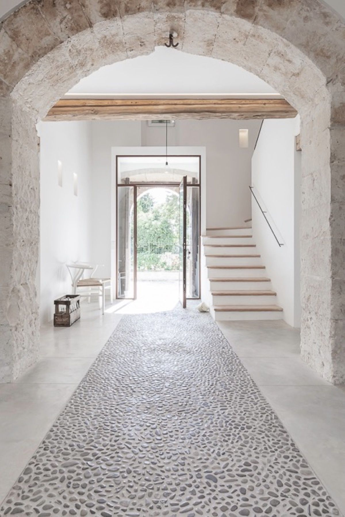Tipos de suelo de piedra natural y consejos para su limpieza suelos pinterest casas - Piedra natural para interiores ...