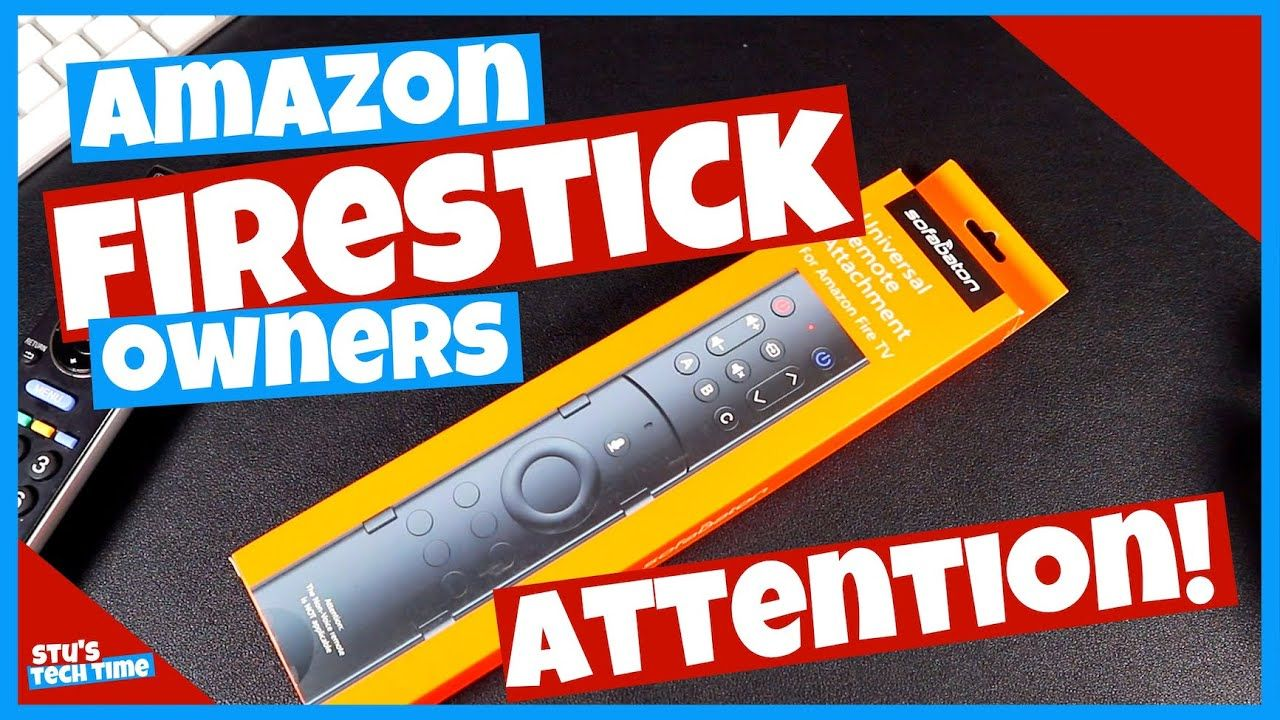 Your Amazon Remote just got an UPGRADE!! Amazon Remote
