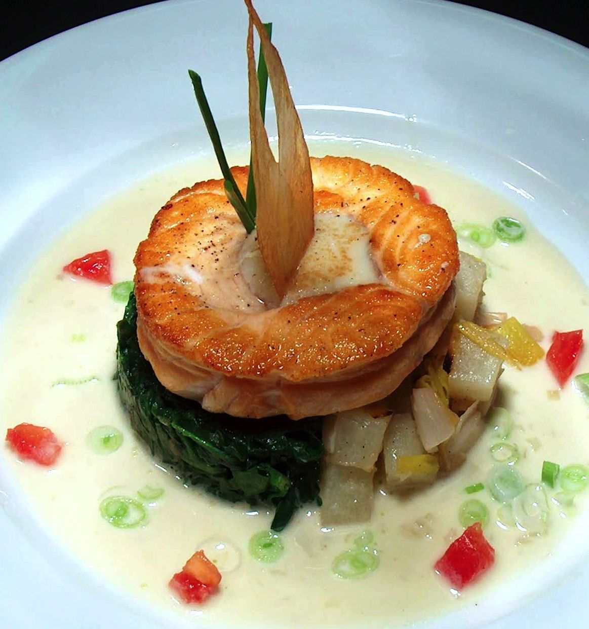 appetizer and garnishes essay Within the nicaraguan cuisine,  the christmas menu includes rich meals, such as roasted chicken, various salads and complex garnishes of potatoes,.