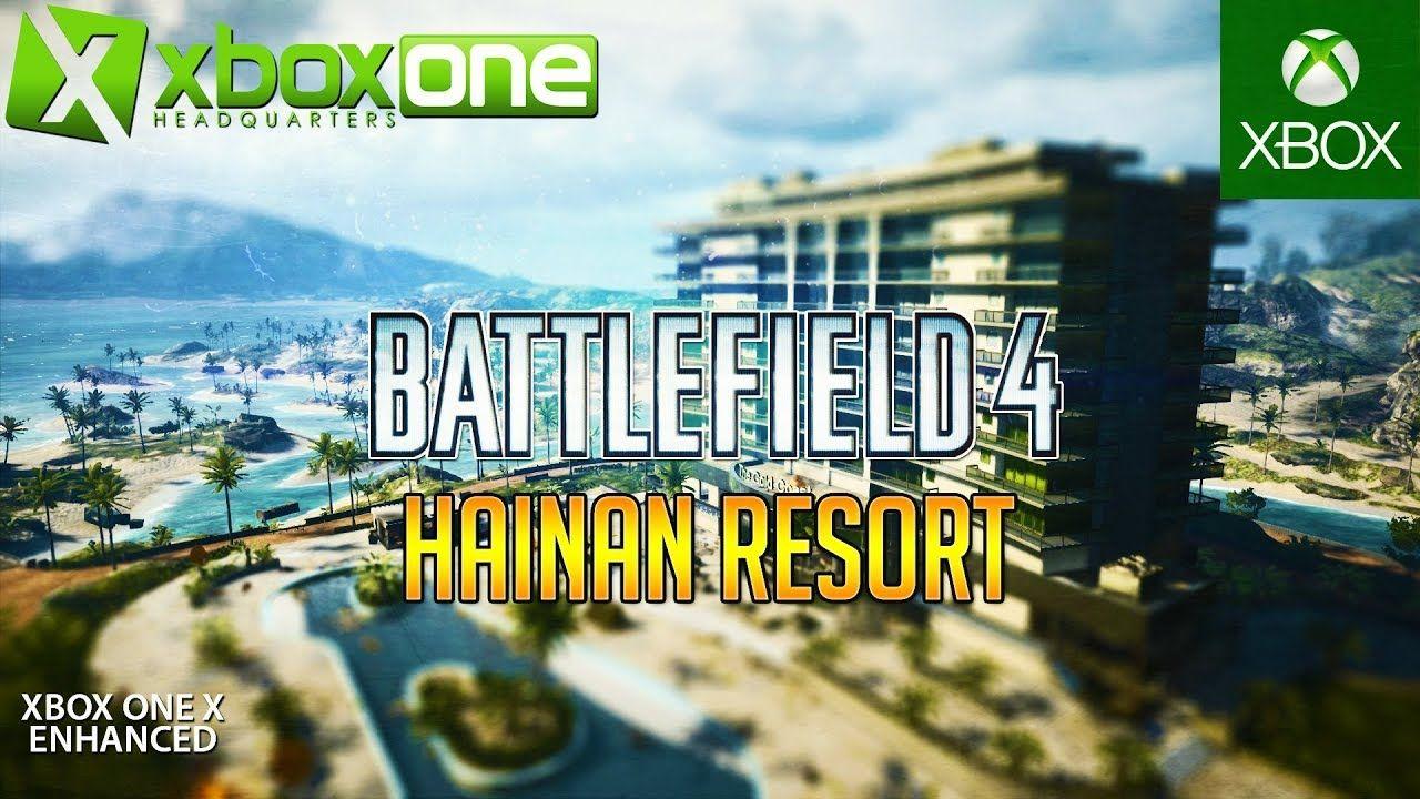 Xboxonex Youtube Bf4 Hainan Resort 64 Player Xbox One X