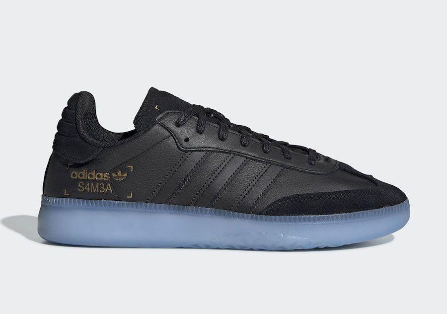 samba rm shoes black