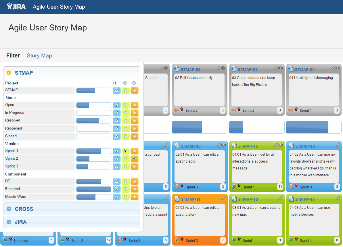 jira user stories user story mapping agile user story. Black Bedroom Furniture Sets. Home Design Ideas