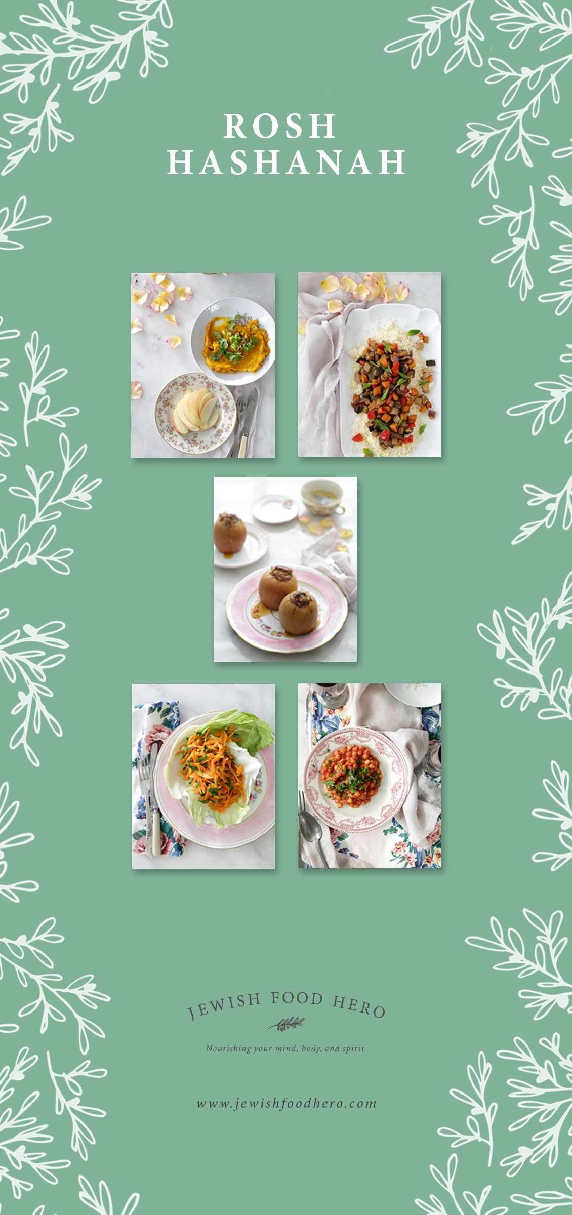 Rosh hashanah plant based menu by jewish food hero rosh hashanah rosh hashanah plant based menu by jewish food hero kristyandbryce Choice Image