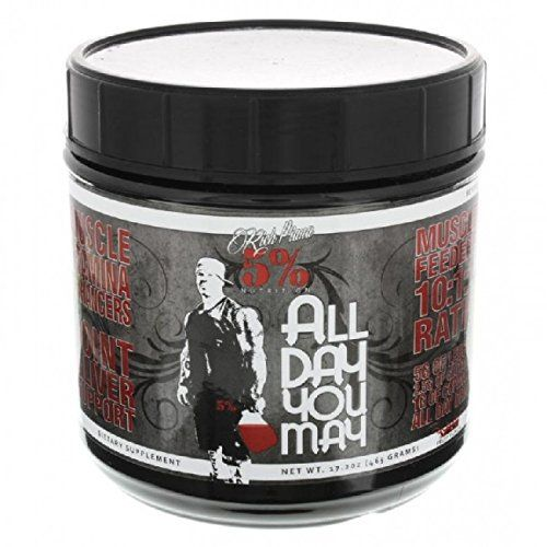 Product Review For Rich Piana 5 Nutrition All Day You May Bcaa Joint Recovery Drink Blue Raspberry Post Workout Nutrition Liver Nutrition All Day You May
