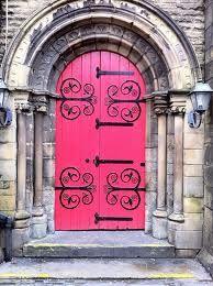 Pink Church Doors Porte Fenetre Portes Anciennes Et Vieilles