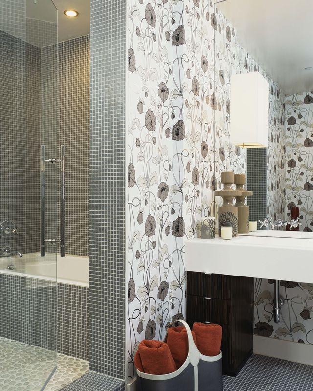 Ideas para decorar tus paredes con papel tapiz - Papel pared moderno ...