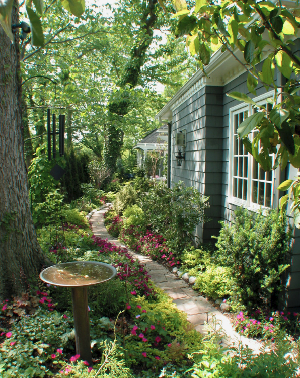 5 Inspiring Ways To Create A Cottage Style Garden Town Country Living Cottage Garden Design Cottage Garden Backyard Landscaping