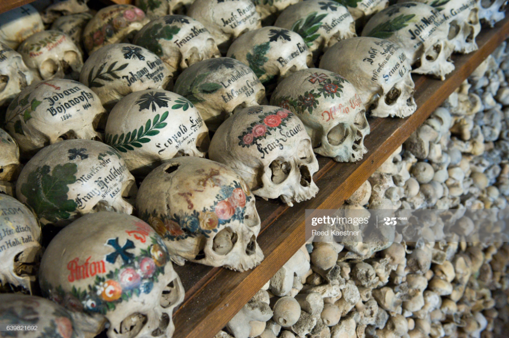The Charnel House Or Bone House In St Michael S Chapel Is One Of In 2020 Royalty Free Images Wealth And Power Skull