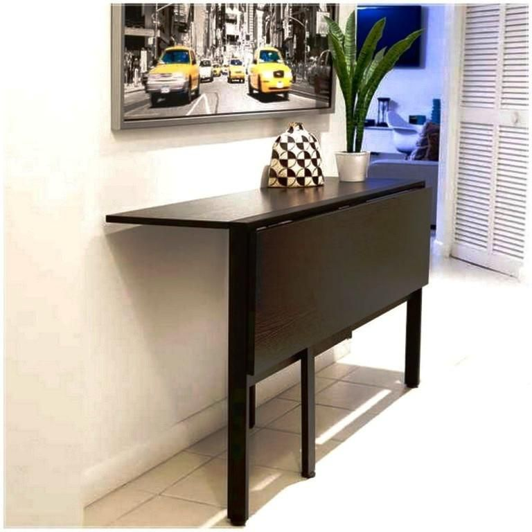 Dining Room Table With Drop Down Sides Alluring Chic Ikea Folding Wall Table Ikea Wall Mounted Folding Table All Review