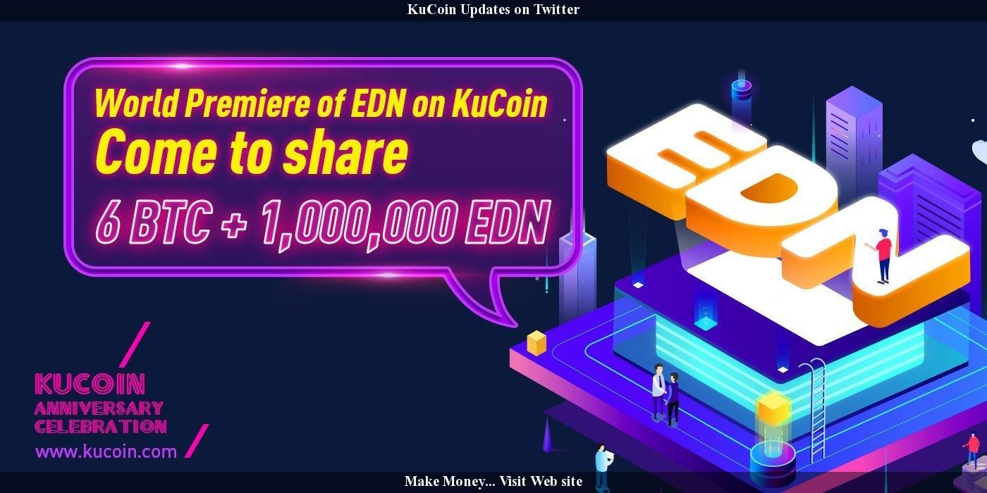 KuCoin Updates on Twitter Bitcoin, How to get rich, Learning
