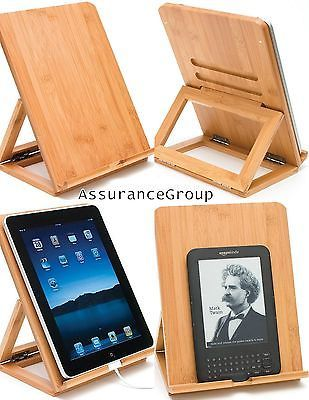 Adjustable Bamboo Folding iPad Android Windows Tablet eReader Universal Stand https://t.co/aUKtw552uV https://t.co/osAR5kBLNU