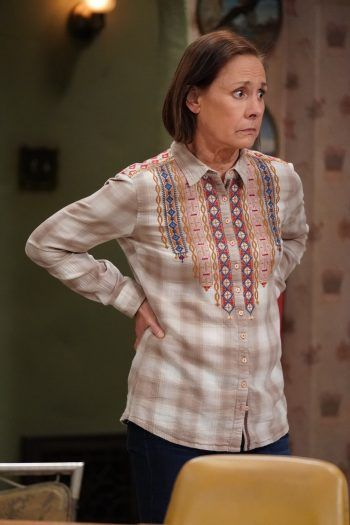 #LaurieMetcalf has lived in Jackie Harris's shoes for many years on #Roseanne and #TheConners, and she loves the things that make the character so special.  #TV #TVNews #television #ABC #ABCNetwork #Entertainment #entertainmentnews #celebrities #celebrity #celebritynews #celebrityinterviews