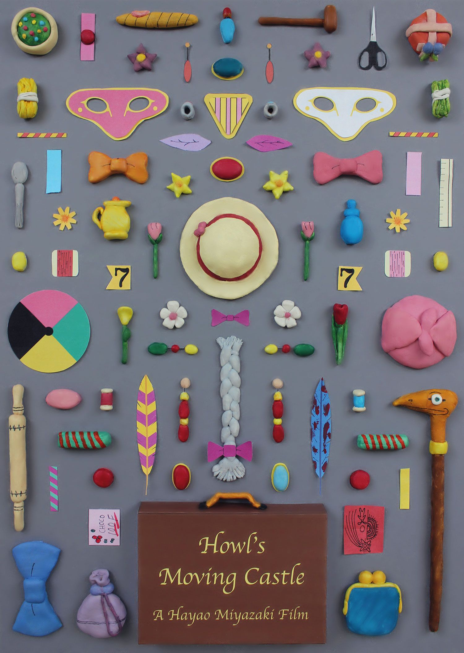 Every Important Object From Miyazaki Films In Movie Poster Form