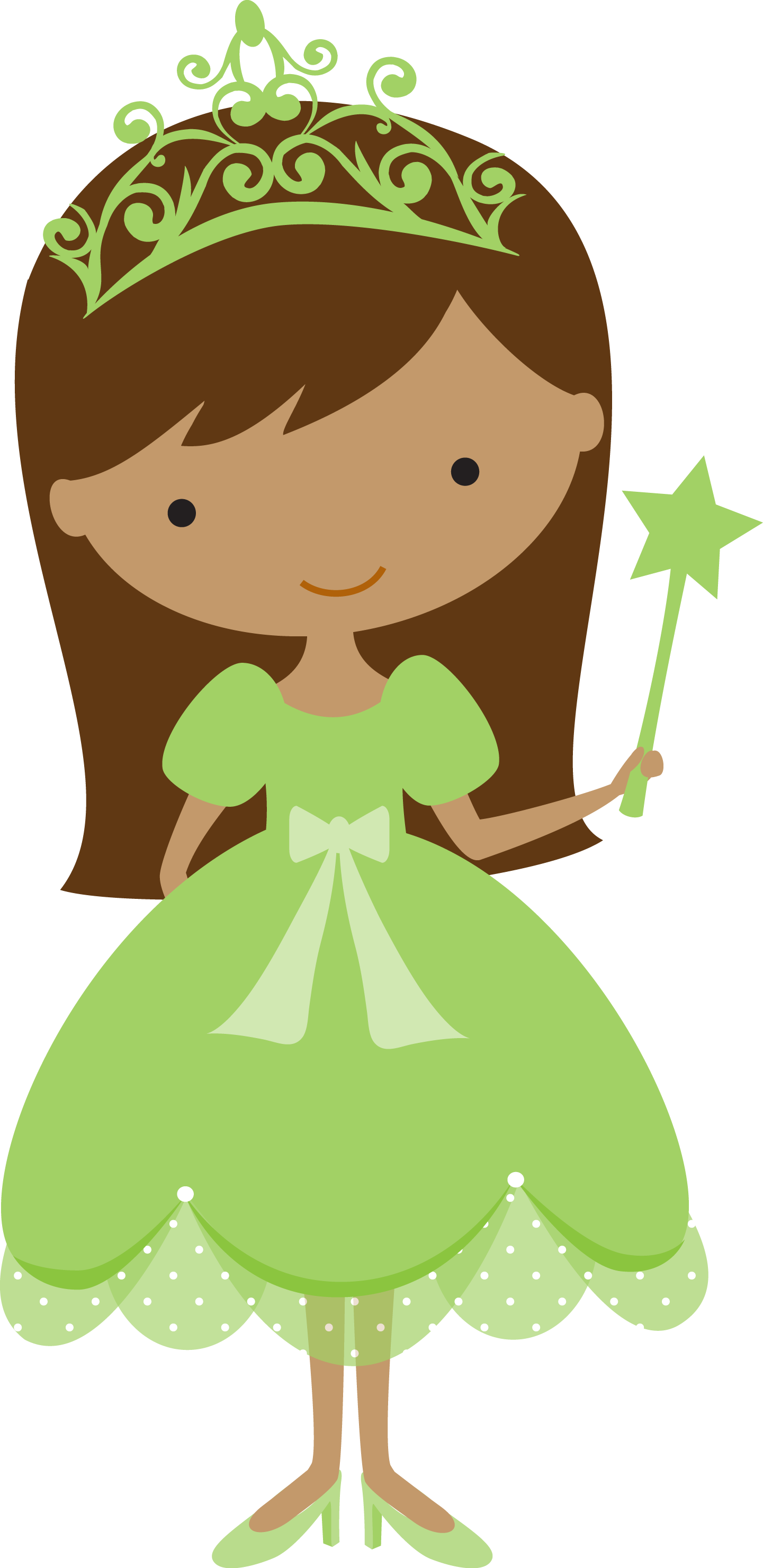Princesas e fadas 2 - green2.png - Minus | Princesas | Pinterest