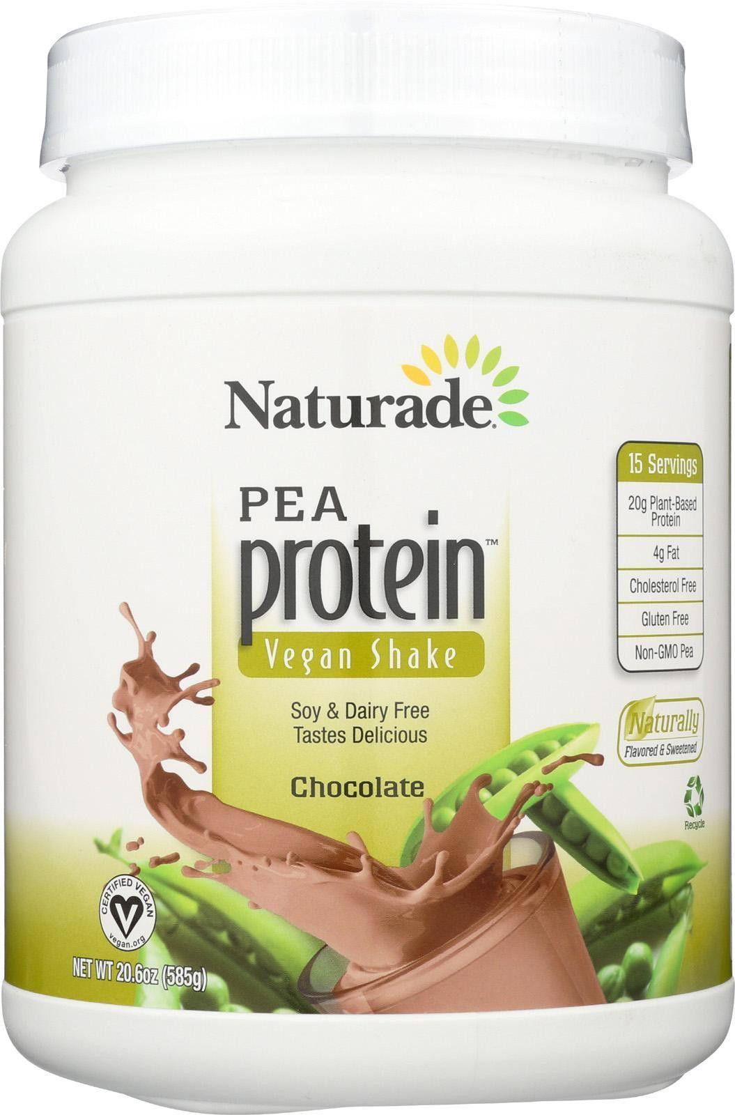 Naturade Pea Protein - Chocolate - Jug - 20.63 Oz | Pea ...