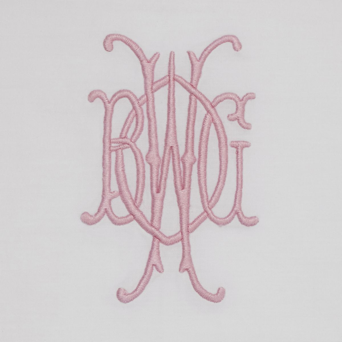Overlap Embroidery monogram, Embroidery monogram fonts