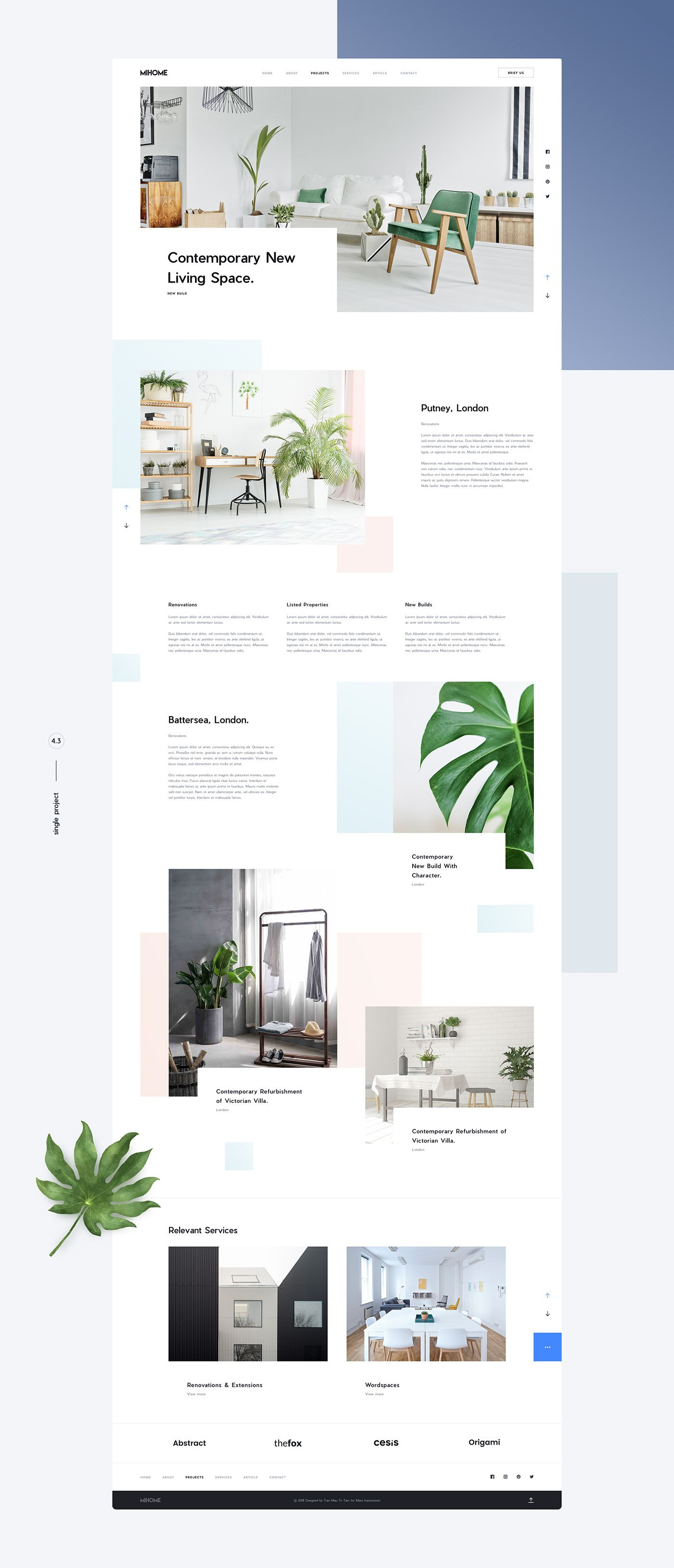 Mi home free sketch app template on behance