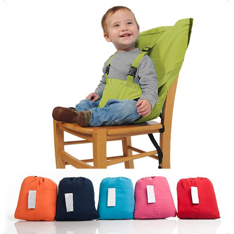 Portable Travel High Chair Booster Baby Seat Harness Washable