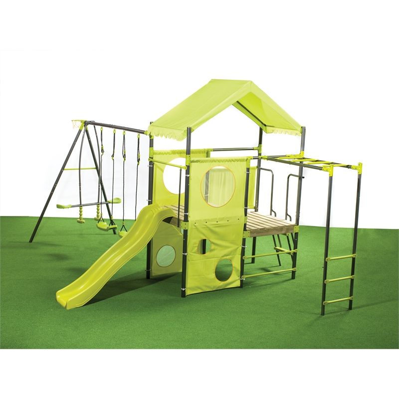 Ssc Play Equipment Manor Swing Set 699 At Bunnings