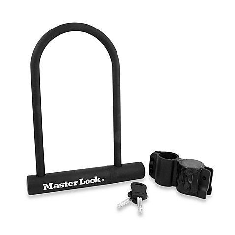 Master Lock Fusion U Lock Bike Lock With Carrying Bracket In