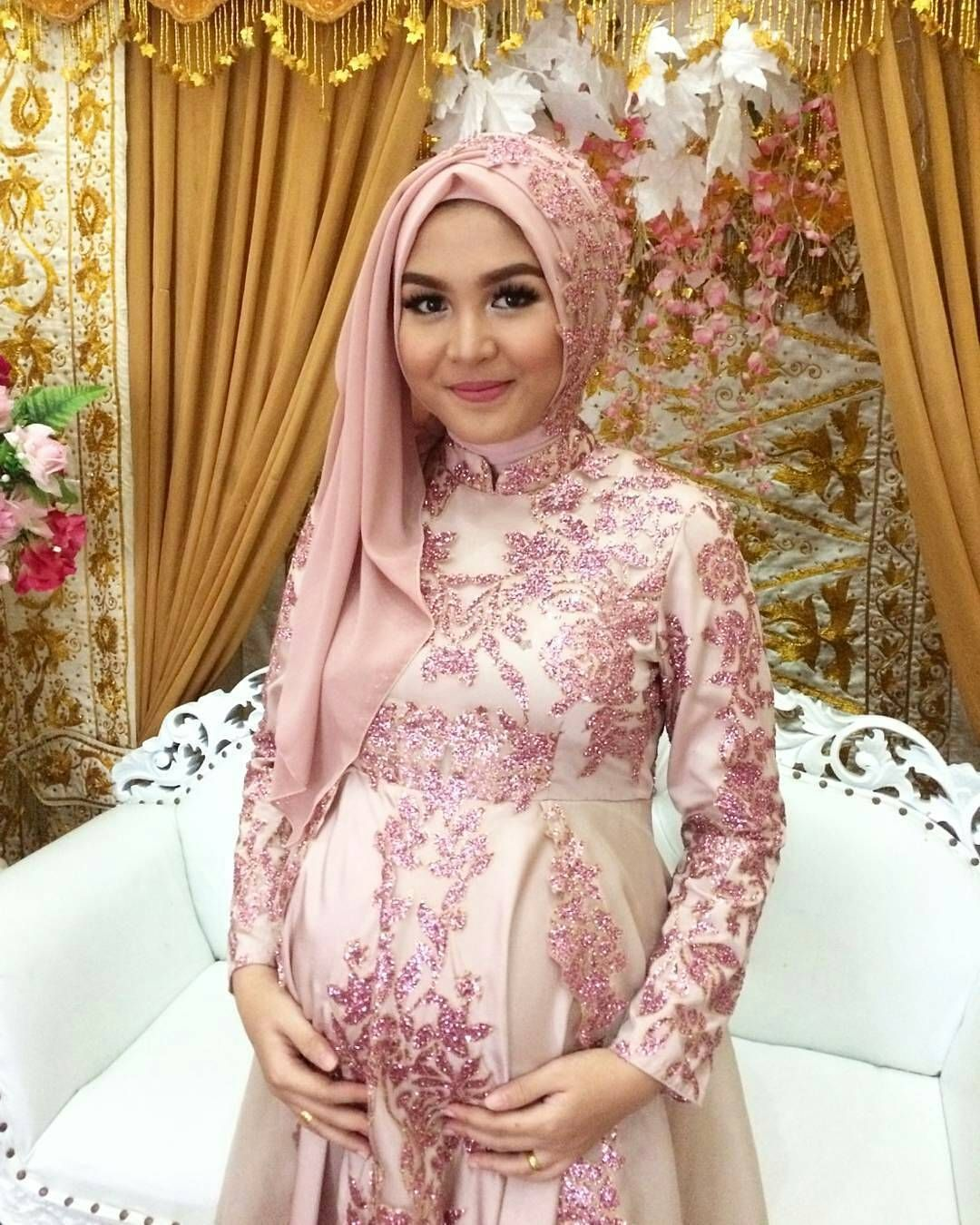 Pin de ida adam en Pregnant muslimah dresses | Pinterest | Vestidos ...