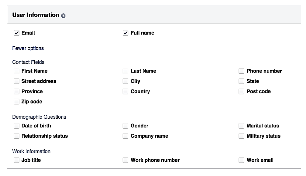 Facebook Lead Ads Everything You Need To Know This Or That Questions Ads Work Email