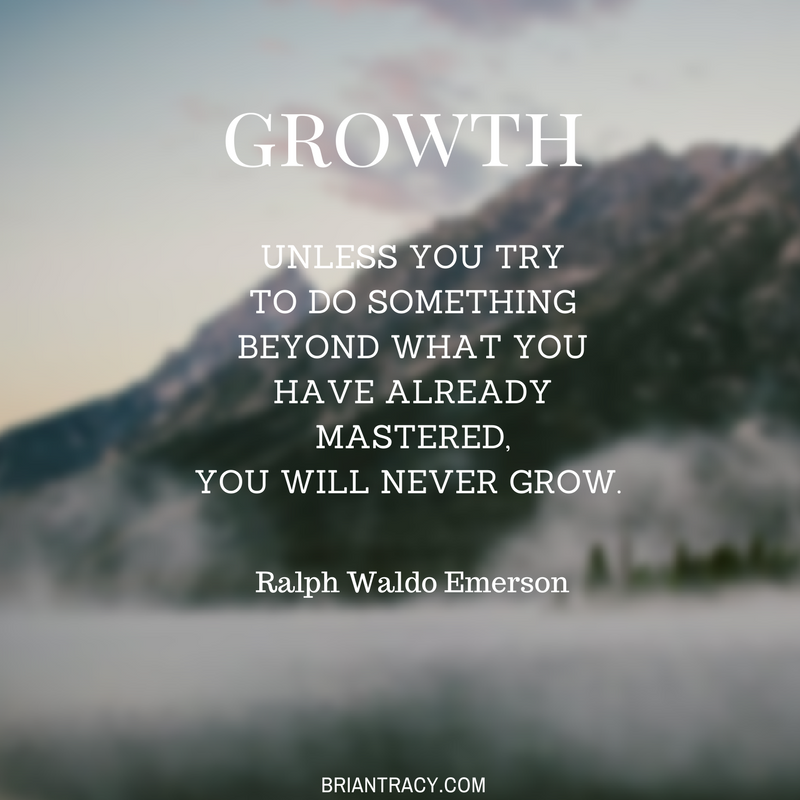 Growth Is Outside Of The Comfort Zone Challenge Yourself