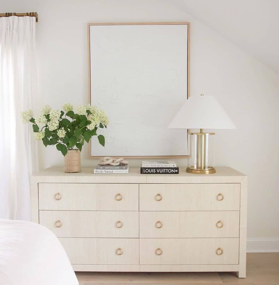 Serena Lily On Instagram Today On Our Stories Blushingboho Shows Us How To Style The Blake Wide Dresser 3 W Dresser Styling Dresser Decor Style A Dresser [ 1094 x 1070 Pixel ]