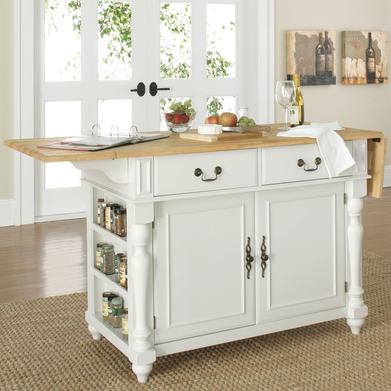 Jcpenney - Drop-Leaf Kitchen Island - Jcpenney